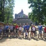 Nádvoří hradu Pernštejn
